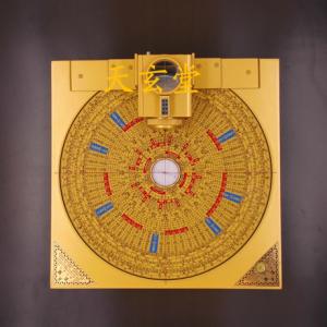 10寸3合1激光镜像罗盘定位仪(综合盘、三元盘)(本产品含专业手提箱、不含支架)